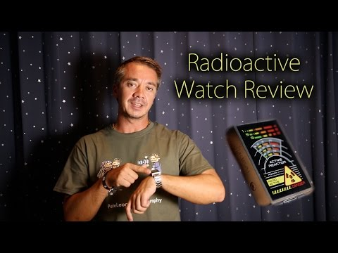 Radioactive watch review from Tokyo Flash