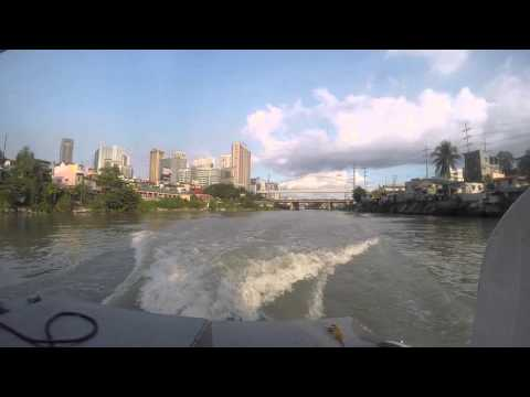 Pasig River Ferry Video 2 - GoPro HERO4 Silver Review by YouPoundit