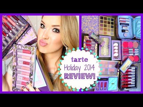 HUGE Review!!! tarte Holiday 2014 | MissJenFABULOUS