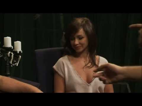 Danielle Harris behind the scenes on Horror Kung Fu Theatre