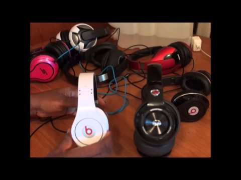 BEATS STUDIO vs MONSTER N-PULSE HEADPHONES