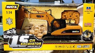 Vừa mua nó Máy xúc Đồ chơi,Chiếc xe đồ chơi,Rất lớn. Xe điều khiển từ xa. Super excavator toys