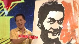 Phạm Hồng Minh - Trình diễn hội họa|Bạn có thực tài|Mùa 1| Tập 04