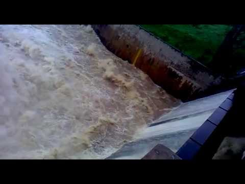 kadem dam in Adilabad district water flow 1