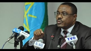 Ethiopia - P.M. Hailemariam Desalegn says USA will have no role in Ethiopian politics