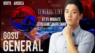 New Season Started!! Let's grind the Stars, North America Marksman Player Gosu General Live