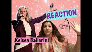 Kelsea Ballerini- Miss Me More CMA Performance *REACTION*