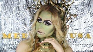 Medusa Halloween Makeup Tutorial + DIY Snake Headpiece | TheBeautyVault