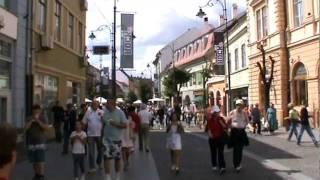 Fahrt durch einige Straßen von Hermannstadt (Sibiu) • 08.08.2011