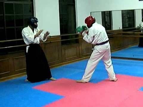 Aikido Vs Taekwondo 合気道とテコンドーで闘ってみました video