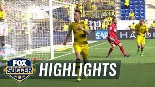 Hoffenheim vs. Dortmund | Bundesliga Highlights | FOX SOCCER