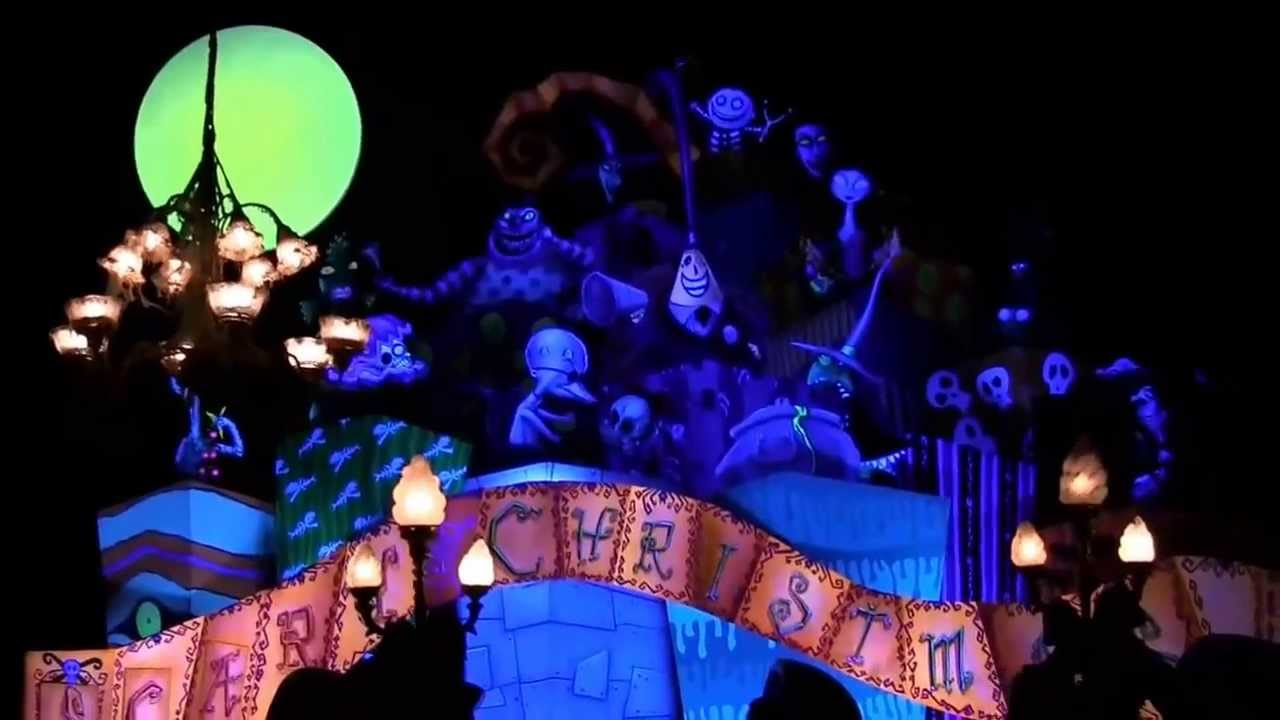... Nightmare Before Christmas Disneyland Haunted Mansion 2013 Full Ride