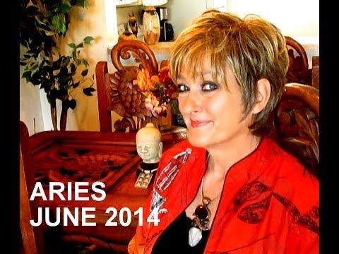 ARIES - JUNE 2014 Astrology Forecast - Karen Lustrup