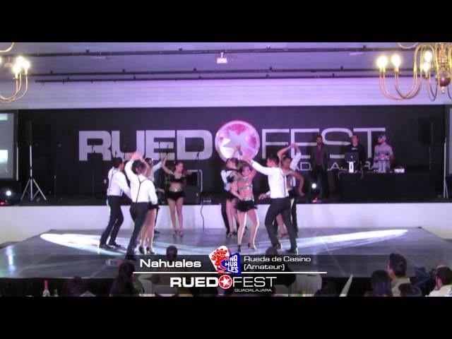 Nahuales (Rueda de Casino Amateur) | Ruedafest 2015 | Guadalajara