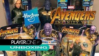 PlayerOne Unboxing Hasbro Marvel Avengers Infinity War Action Figure Assortment