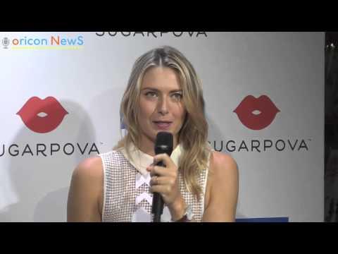 Maria Sharapova Launch Sugarpova in Tokyo Japan 2014