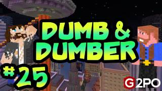 Dumb and Dumber on Minecraft - Aliens Vs TNT Ep.25 | 2012 Apocalypse
