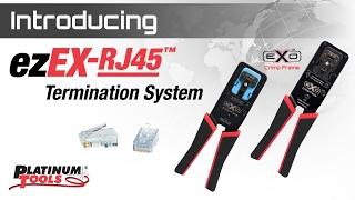 The NEW ezEX-RJ45 Termination System