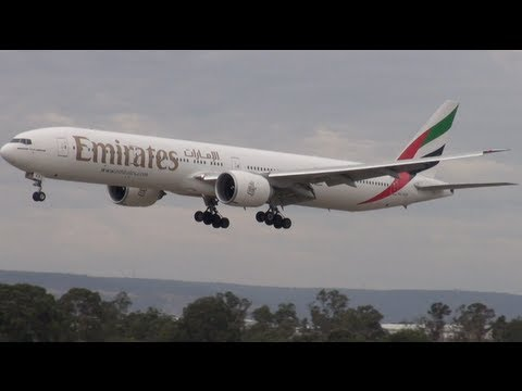 PLANE SPOTTING @ PERTH AIRPORT  - Episode 3 (HD)