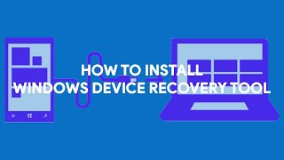 How To Install Windows Device Recovery Tool - [romshillzz]