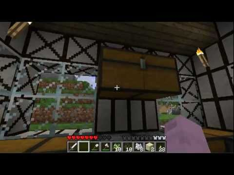 Minecraft - Millenaire Mod - Timber Frames 1
