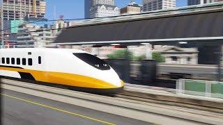 GTA 5 - Điều khiển tàu điện siêu tốc chạy cực nhanh 300kmh trên đường ray | ND Gaming
