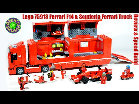 new lego 2015 speed champions ferrari f14 scuderia. Black Bedroom Furniture Sets. Home Design Ideas