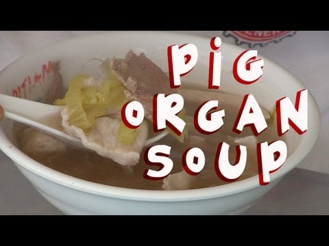 Pig Organ Soup, Singapore Food Guide