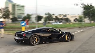 Powersliding and Drifting a Laferrari at the Pagani Factory