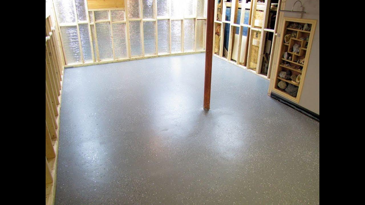 Shop Floor Coating Floors in my New Shop