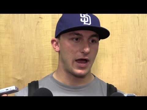 Johnny Manziel on making the most of his time off the field as Brian Hoyer plays for the Browns