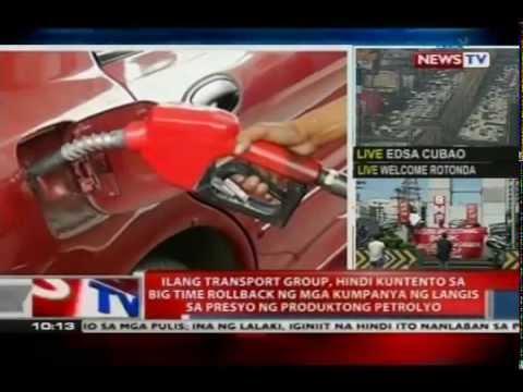 NTVL: Ilang transport group, hindi kuntento sa big time rollback ng produktong petrolyo