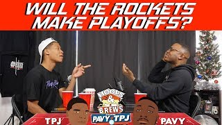 Will the Rockets make the playoffs? | Hoops N Brews