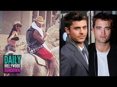 Naya Rivera Secret Wedding, Zac Efron & R-Patz BESTIES! (DHR)