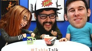Steve Can Fly, Meg Likes Boobies, and How Ross Gets Ladies - It's #TableTalk!