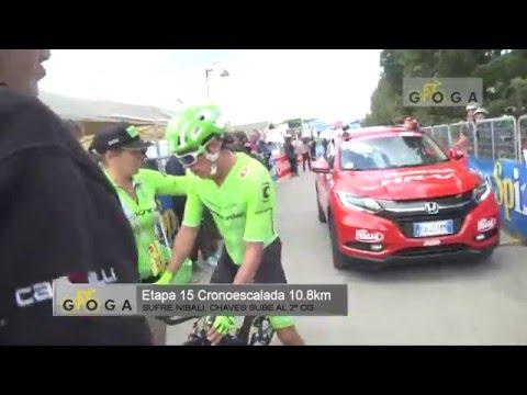 VIDEO COMENTARIO ETAPA 15 GIRO DE ITALIA 2016