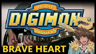 Download Lagu Digimon - Brave Heart~ tri.Version~ (Guitar Instrumental) Gratis STAFABAND