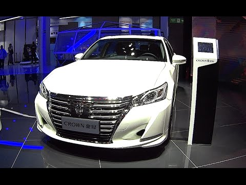 New 2016, 2017 Toyota Crown is Ready for the Chinese car market, Toyota Crown 2016, 2017 model