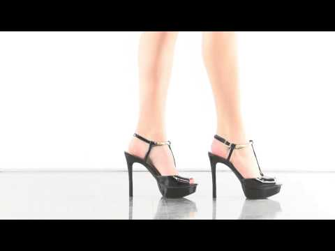 Carah in Black Patent Jessica Simpson