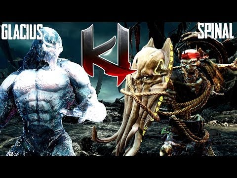 Killer Instinct Classic Glacius Gameplay - Online Match 11