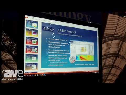 InfoComm 2016: AFMG Exhibits EASE Focus 3 Universal Sound System Modeling