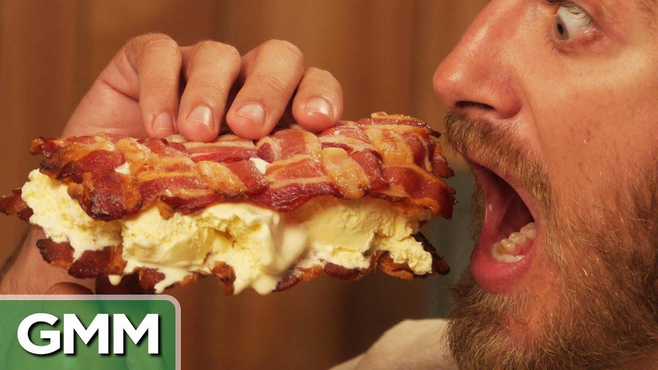 Bacon Ice Cream Sandwich Recipe Will it Ice Cream Sandwich