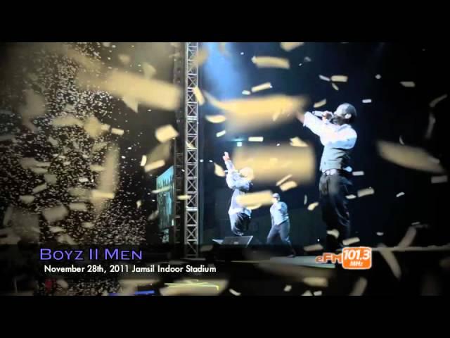 Night Vibe @ Boyz II Men Concert (11/27/11)