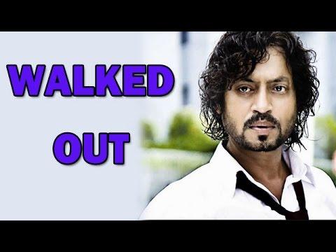 Irrfan Khan walks out of 'Sunderkand' | Bollywood News