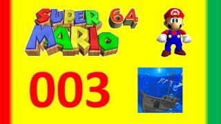 #003 - Super Mario 64 - Jolly Roger Bay - 24 estrellas
