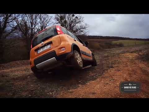 Essai Fiat Panda 4x4 - Le Garage des Blogs