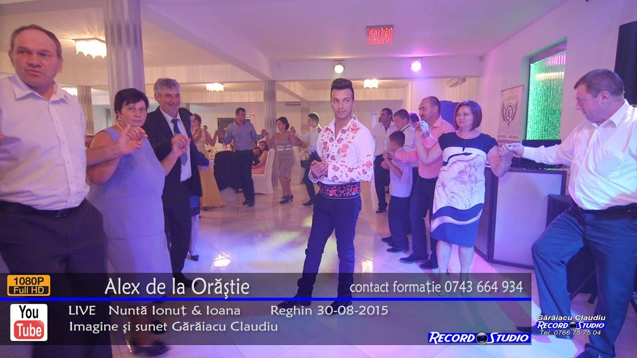 Alex de la Orastie - Tu meriti mandruta / Colaj 30min HORA LIVE Nunta Ionut & Ioana 30-08-2015