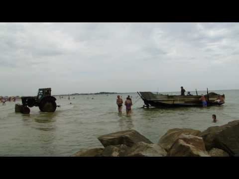 ловля браконьеров на азовском море видео