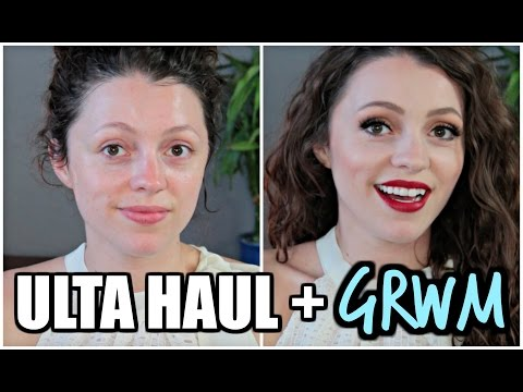 ULTA & DRUGSTORE HAUL   GRWM & Reviews