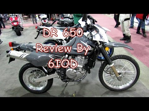DR 650 Review and KLR Comparison With 6IOD